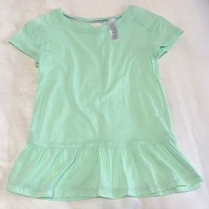 Ivivva teal top size 7